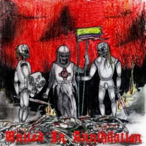Witchtrap - United in Annihilation cover art