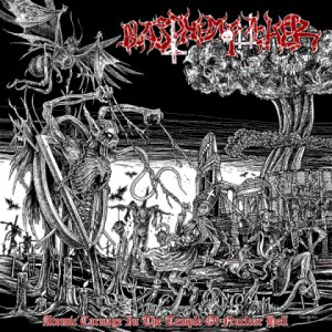 Blasphemophagher - Atomic Carnage in the Temple of Nuclear Hell cover art