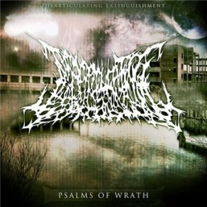 Disarticulating Extinguishment - Psalms of wrath cover art