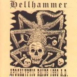 Hellhammer - Apocalyptic Raids 1990 A.D. cover art