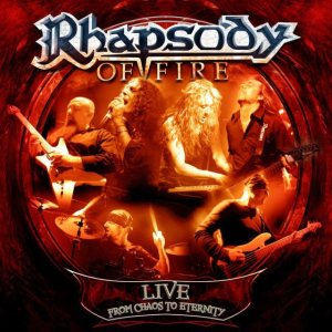 Rhapsody of Fire - Live - From Chaos to Eternity cover art