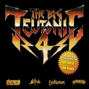 Kreator / Destruction / Sodom / Tankard - The Big Teutonic 4 cover art