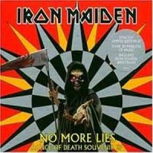 Iron Maiden - No More Lies cover art