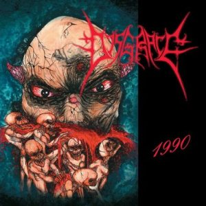Disgrace - 1990 cover art