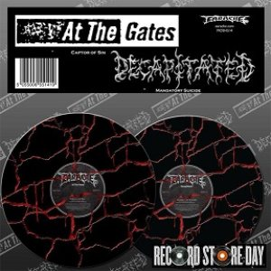 At the Gates / Decapitated - At the Gates / Decapitated cover art