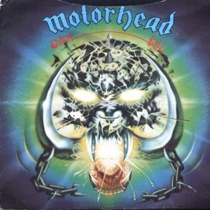 Motorhead - Overkill c/w Too Late, Too Late cover art