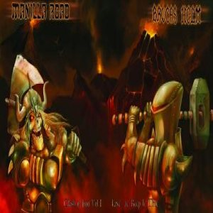 Manilla Road / Brocas Helm - Clash of Iron Vol. I - Live at Keep it True cover art