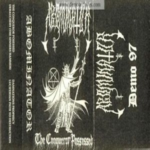 Abominator - The Conqueror Possessed cover art