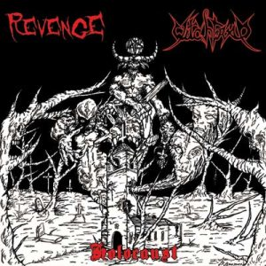 Witchtrap / Revenge - Holocaust cover art