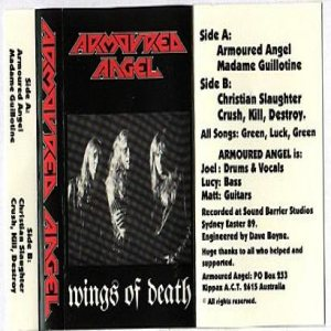 Armored Angel - Wings of Death cover art