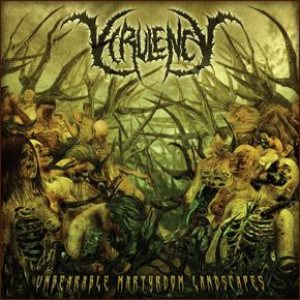 Virulency - Unbearable Martyrdom Landscapes cover art