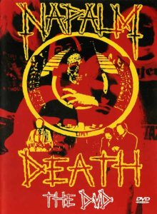 Napalm Death - The DVD cover art