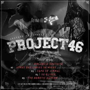 Project46 - Ao Vivo @ Inferno Club cover art