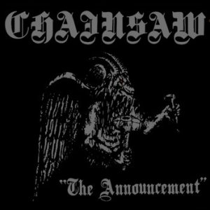 Chainsaw - The Announcement cover art