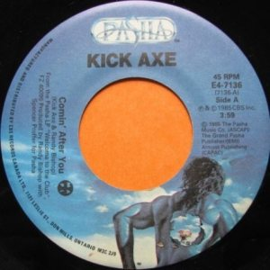 Kick Axe - Comin' After You cover art