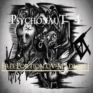 Psychonaut 4 - Free Portion ov Madness I cover art