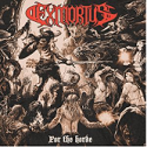 Exmortus - For the Horde cover art