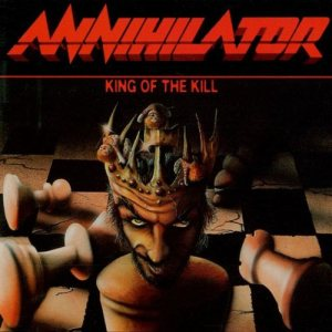 Annihilator - King of the Kill cover art