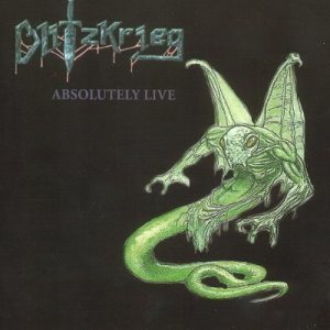 Blitzkrieg - Absolutely Live! cover art