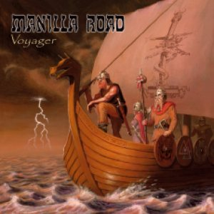 Manilla Road - Voyager cover art