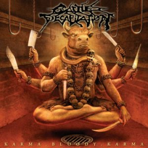 Cattle Decapitation - Karma. Bloody. Karma cover art