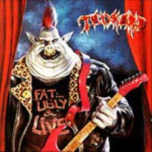 Tankard - Fat, Ugly and Live cover art