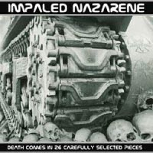 Impaled Nazarene - Death Comes in 26 Carefully Selected Pieces cover art