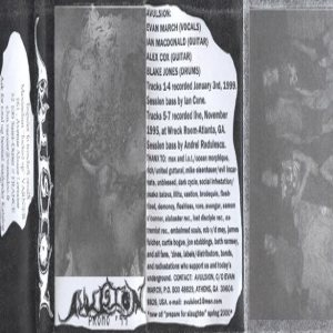 Avulsion - Promo '99 cover art