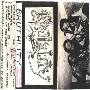 Brutality - Brutality Version 1 cover art