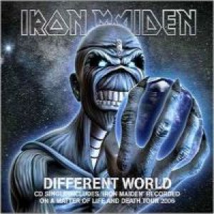 Iron Maiden - Different World cover art