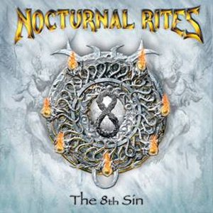 Nocturnal Rites - The 8th Sin cover art