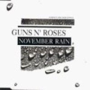 Guns N' Roses - November Rain cover art