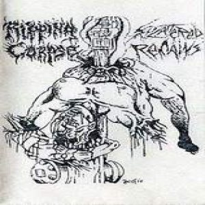 Ripping Corpse - Splattered Remains cover art