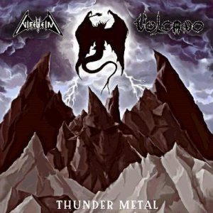 Nifelheim / Vulcano - Thunder Metal cover art