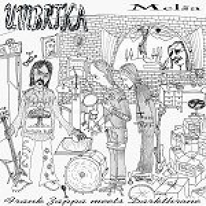 Umbrtka - Melša - Frank Zappa Meets Darkthrone cover art