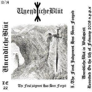 UnendlicheBlüt - The Final Judgement Has Been Forged cover art