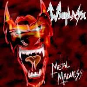 Whiplash - Metal Madness cover art