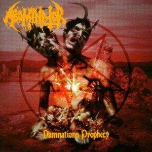 Abominator - Damnation's Prophecy cover art
