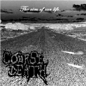 Course Death - The Aim of Our live cover art