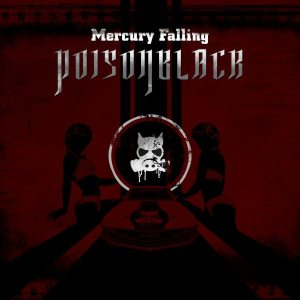 Poisonblack - Mercury Falling cover art