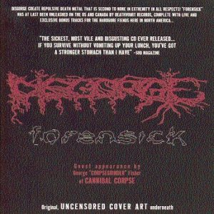 Disgorge - Forensick cover art
