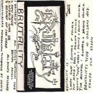 Brutality - Brutality Version 2 cover art