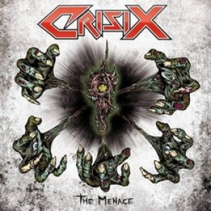 Crisix - The Menace cover art