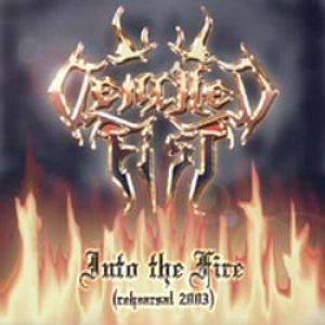Clenched Fist - Into the Fire cover art