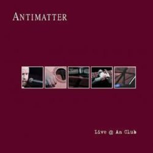 antimatter - live @ an club cover art