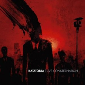 Katatonia - LIve Consternation cover art