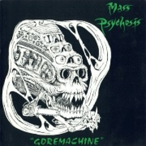 Mass Psychosis / Exterminance - Goremachine / Vomiting the Trinity cover art