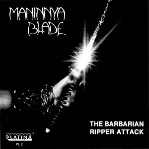 Maninnya Blade - The Barbarian/Ripper attack cover art