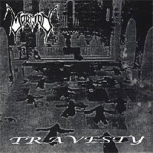 Morgion - Travesty cover art