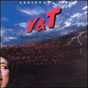 Y&T - Earthshaker cover art
